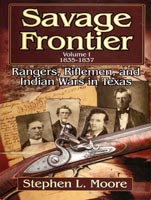 Savage Frontier, 1835-1837,  from University of North Texas Press