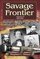 Savage Frontier, 1842-1845,  from University of North Texas Press